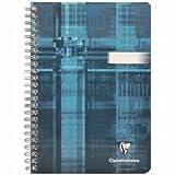 Clairefontaine 5 x Spiralbuch A5 blanko 90 Blatt farbig Sortiert