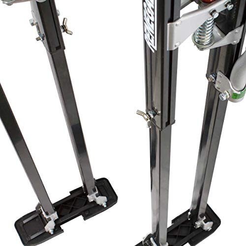 Renegade Pro Drywall Stilts - Extra Tall 48'-64' Inch Adjustable Height