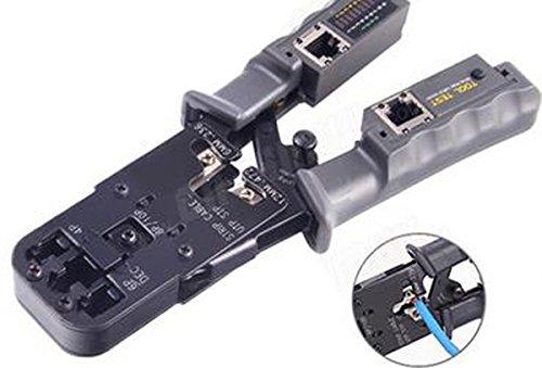 Sricam Italia obasecurity Crimpzange Zange Plug A, Crimpzange Netzwerkkabel LAN Ethernet Cat6/5mit Tester Test