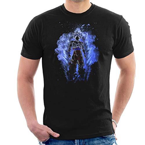 Soul of UI Goku Dragon Ball Z Mens T Shirt Black
