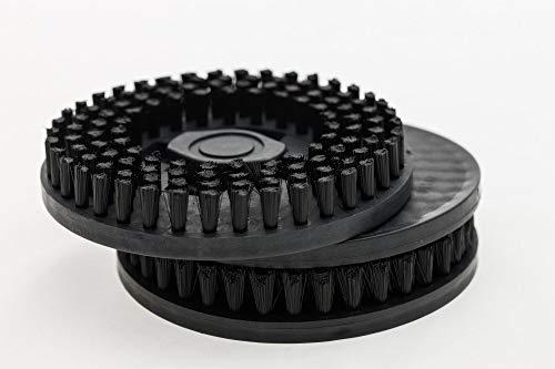 Hoover Z17 Cepillos de Crin, Plástico, Negro
