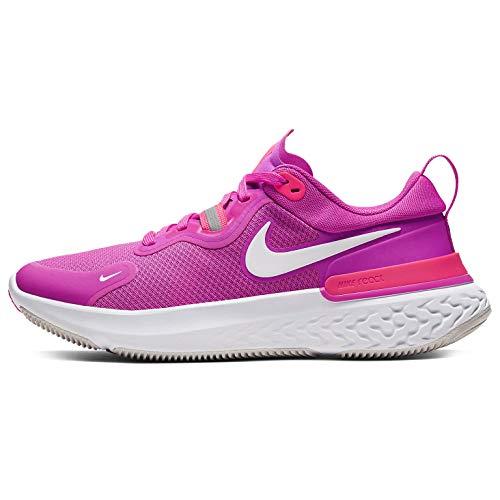 Nike Zapatillas de correr para mujer React Miler Cw1778-601, rosa (Rosa Fuego/Blanco Equipo Naranja-vasto Gris), 38.5 EU