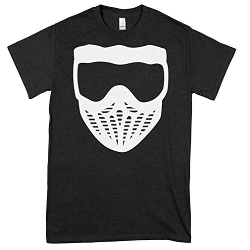 Paintball Mask Classic Guys Unisex Tee Cool Shirt For Men - Hot Vintage Classic Style Women Best Trending