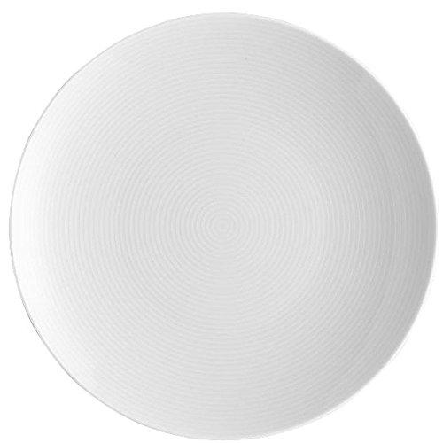 Thomas Loft Set de 6 Platos Llanos, 22 cm, Color Blanco, Porcelana, Unidades