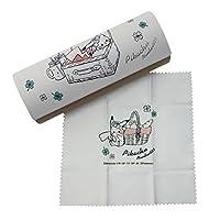 パール ポケットモンスター メガネケース ポケモン/ピクニック (25918) 094153 ホワイト ケース内寸:W160×D60×H40mm、クロ...