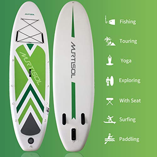 Product Image 5: Murtisol Inflatable Paddle Board Stand Up Paddle Green