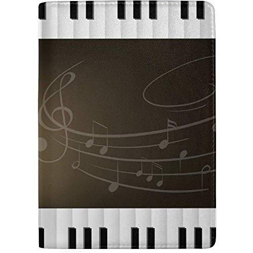 Piano de Cola con teclados Musicnotes Funda de Cuero portát