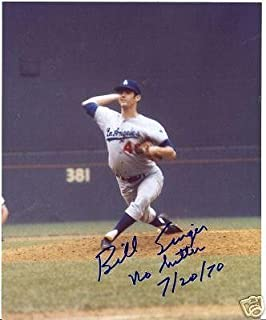 Bill Singer La Dodgers No Hitter 7/20/70 Signed 8x10 - Autographed MLB Photos