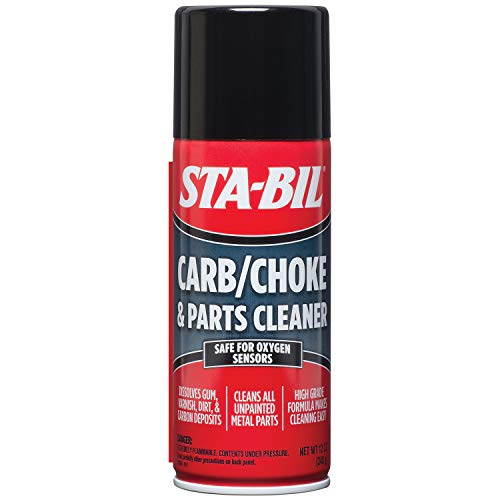 STA-BIL (22005 Carb/Choke and Parts Cleaner - Safe for Oxygen Sensors - Dissolves Gum, Varnish,...