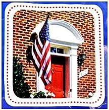 Seasonal Designs 3 ft. x 5 ft. Nylon US Flag with 6 ft. Aluminum Pole and Nylon Bracket