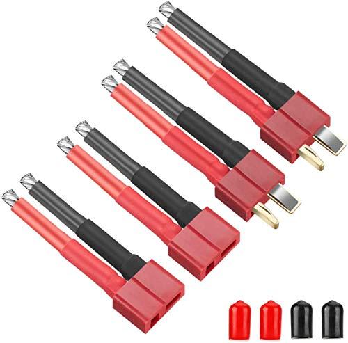 4PCS Decano Style T Plug Connector Conector Hembra y Macho con 12AWG...
