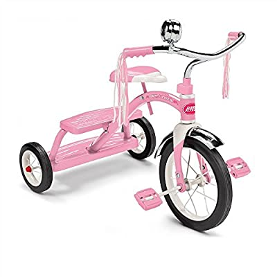 Radio Flyer Classic Pink Dual Deck Tricycle from RADIO FLYER INC