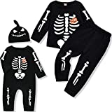 Toddler Halloween Funny Skeleton Pullover...