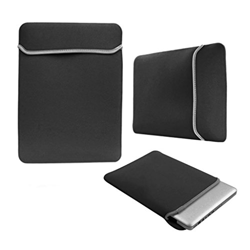 Love My Case negro 29,46 cm/27,94 cm portátiles/cubierta/bolsa para Microsoft Surface RT 10,6 con 5 x incluye bayetas