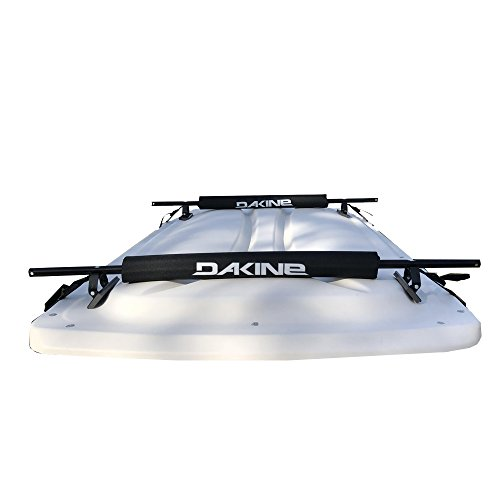 Dakine New Golf CART/EV/Electric Vehicle Surfboard Longboard ROOF Rack EZ-GO Club CAR Yamaha Pads and Straps - Delivered Fully Assembled Just Tighten Clip Straps & Use