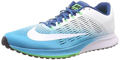 Nike Air Zoom Elite 9, Zapatillas de Running Hombre, Azul (Chlorine Blue/Industrial Blue/Rage Green/White), 41 EU