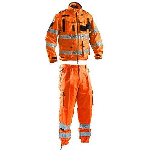 Trainingspak met hoge zichtbaarheid, voor reddingsdiensten. XL 54-56 Oranje.