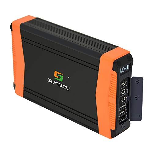 SUNGZU Portable Charger for Drone, 52000mAh Solar Power Bank External Battery for DJI, 3USB Type-C 2DC(12V/13.05V/17.5V/19V) for Phones Laptop Cameras, Wizard 3/4 Drones (200W)