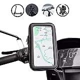 Funda de móvil Impermeable de BEISK, para Dispositivos de hasta 6,5 Pulgadas, con Pantalla táctil, para Bicicleta, con Soporte, para iPhone, Samsung, Huawei