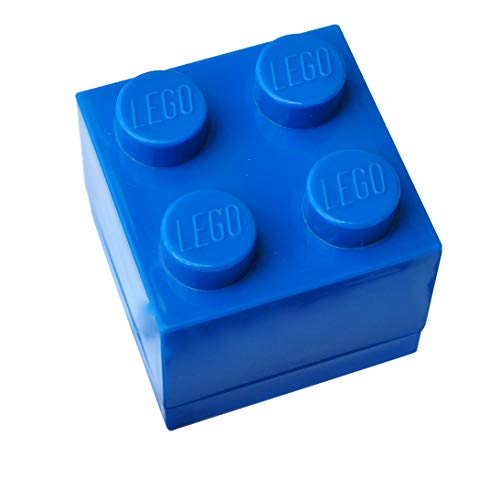 Lego - Caja de regalo para joyas (azul)