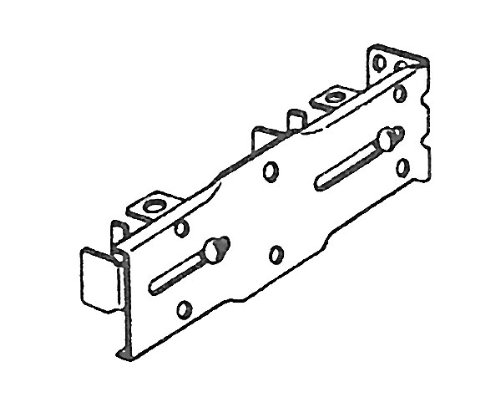 Kirsch Drop-In Style Double Bracket For Traverse Curtain Rods
