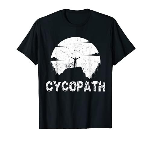 Cycopath ciclista divertente ciclista ciclista ciclista ciclista gioco di parole ciclista ciclista Maglietta