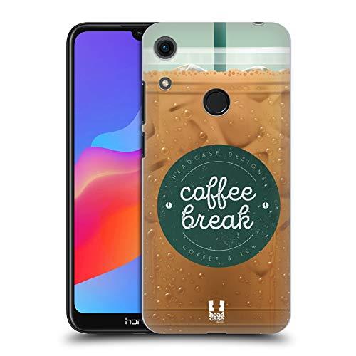 Head Case Designs Vereist Kaffeetassen Harte Rueckseiten Huelle kompatibel mit Huawei Honor 8A