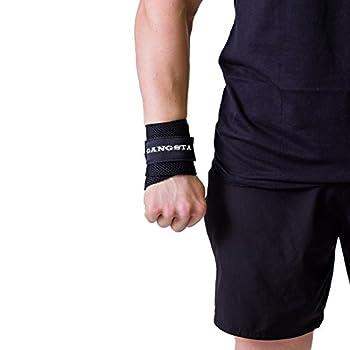Sling Shot Mark Bell s Gangsta Flex Wrist Wraps for Weightlifting and Bodybuilding