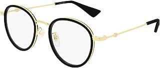 Gucci - Gafas de Vista Gucci GG0608OK Black Gold 49/21/145 unisex