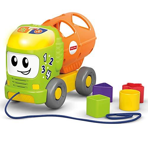 Fisher-Price GFJ42 - Babys Bunter Lernlaster Fahrzeug, Baby und Kleinkind Spielzeug ab 6 Monaten
