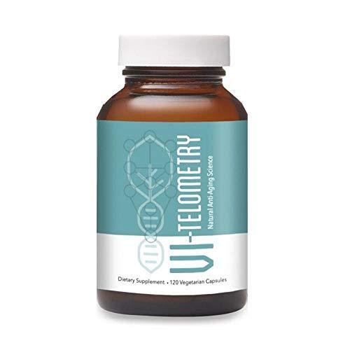 Vi-Telometry Essentials - Telomere Supplements, Astragalus Capsules, Anti Aging Supplements, Astragalus Root Extract, 120 Vegetarian Capsules