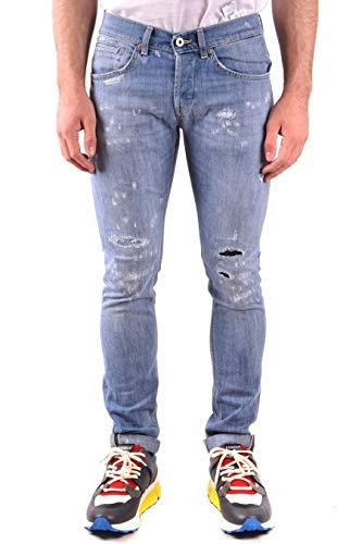 Dondup Luxury Fashion Herren UP232DS0107U42DU800 Hellblau Baumwolle Jeans | Jahreszeit Outlet