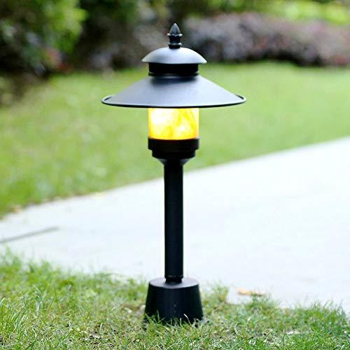 Mejorado moderna simplicidad Farola versión E27 Cristal Baliza Luz impermeable al aire libre de la lámpara Pilar Columna poste de la cerca del jardín de las luces de las luces del patio