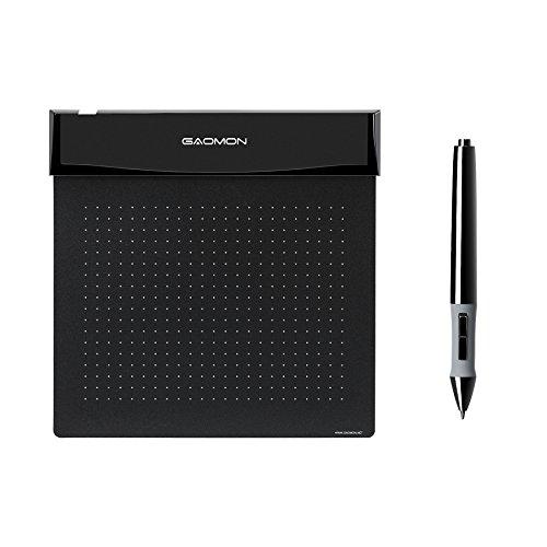 Tableta gráfica de dibujo flexible ultradelgada GAOMON S56K con lápiz óptico de 2048 niveles para juego y firma (S56K)