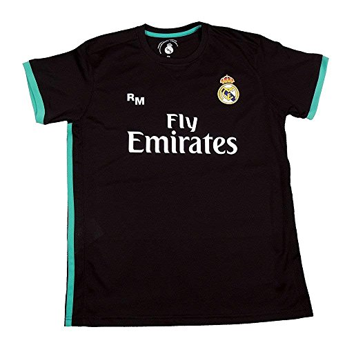Replica Trikot Replica Real Madrid Dorsal Sergio Ramos, Schwarz, Talla XXL