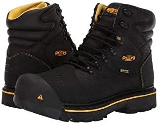 [キーン] Utility メンズ 男性用 シューズ 靴 ブーツ 安全靴 ワーカーブーツ Fort Mac Waterproof - Black [並行輸入品]