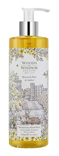 Woods of Windsor Honeyed Pear & Amber Savon Liquide pour les Mains 350 ml
