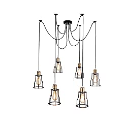 4 styles of industrial chandeliers 70 290. Black Bedroom Furniture Sets. Home Design Ideas