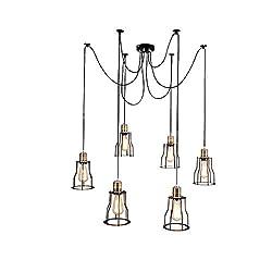 4 styles of industrial chandeliers 70 290. Black Bedroom Furniture Sets. Home Design Ideas