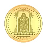 WHP Jewellery Traditional Coin Collection. This Coin is made of 22kT (916) 8 gm Yellow Gold. 100% buyback Guarantee of products on prevailing rates in WHP stores across India. The item will be delivered to you in a tamperproof package. Please inspect...