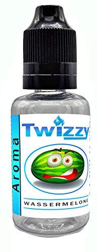 30ml Twizzy® XL Wassermelone Aroma | Aroma für Shakes, Backen, Cocktails, Eis | Aroma für Dampf Liquid und E-Shishas | Flav Drops | Ohne Nikotin 0,0mg