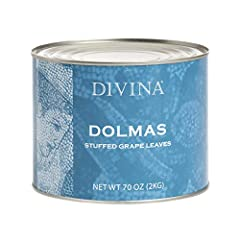 Fruits & Vegetables|Vegetables Divina Dolmas Stuffed Grape leaves (70 oz)