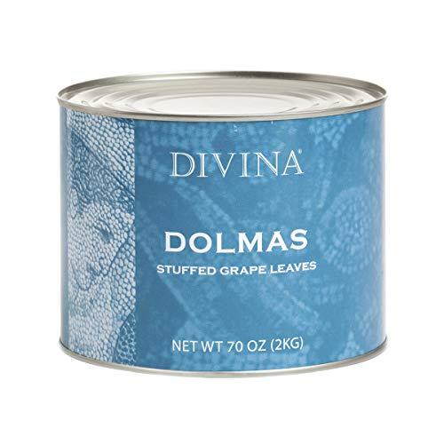 Divina Dolmas Stuffed Grape Leaves, 4.4 lb. Can (Case of 6)