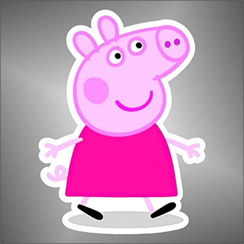 Aufkleber - Sticker Peppa pig comics cartoon cartoni animati