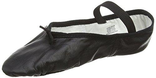 Bloch 209 Arise Lederschläppchen mit ganzer Sohle - Schwarz - Größe EU 38 UK 5L - B Ausstattung