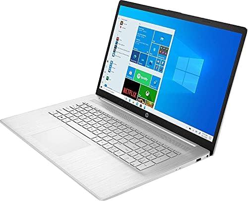 Newest Hp 17.3 Business Laptop Computer HD+ Anti-Glare Display, 11th Gen Intel Core i3-1115G4 (Beats i5-7200U), 12GB DDR4 RAM, 256GB SSD, WiFi, HDMI, Webcam, NO DVD, Windows 10 Pro WeeklyReviewer