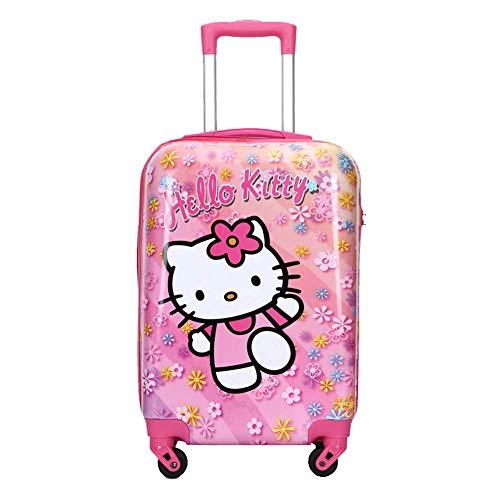 Kinderbagage, lichtgewicht kinderwagen wordt gebruikt om handbagage voor kinderen te dragen met een 20-inch tekenfilmpatroon, Koffers Reizen
