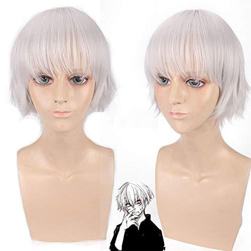 comprar pelucas blanco plateado online