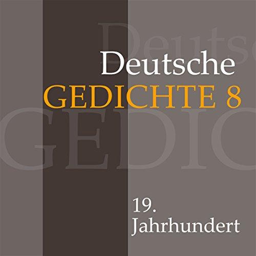 Deutsche Gedichte 8 - 19. Jahrhundert Titelbild