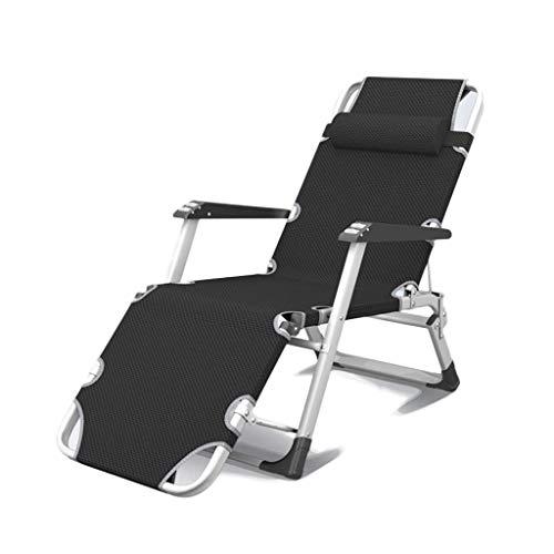 HXCD Sun Lounger Chair Schwerelosigkeit für den Garten, Klappdeckstuhl Klappbare Liegen Hochleistungs-Metall Tragbar Entspannendes Liegebett Gartenmöbel für Rasen Outdoor Patio Beach Camping